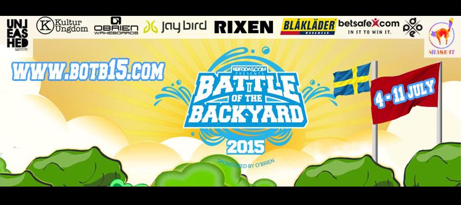 Battle of the backyard 2015