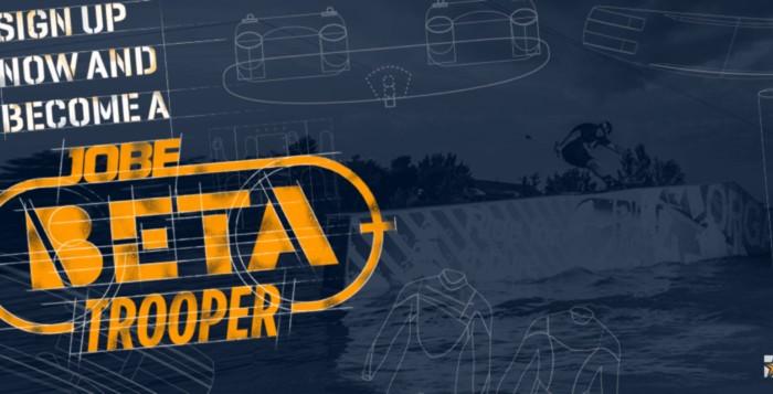 Become a JOBE BETA Tropper !