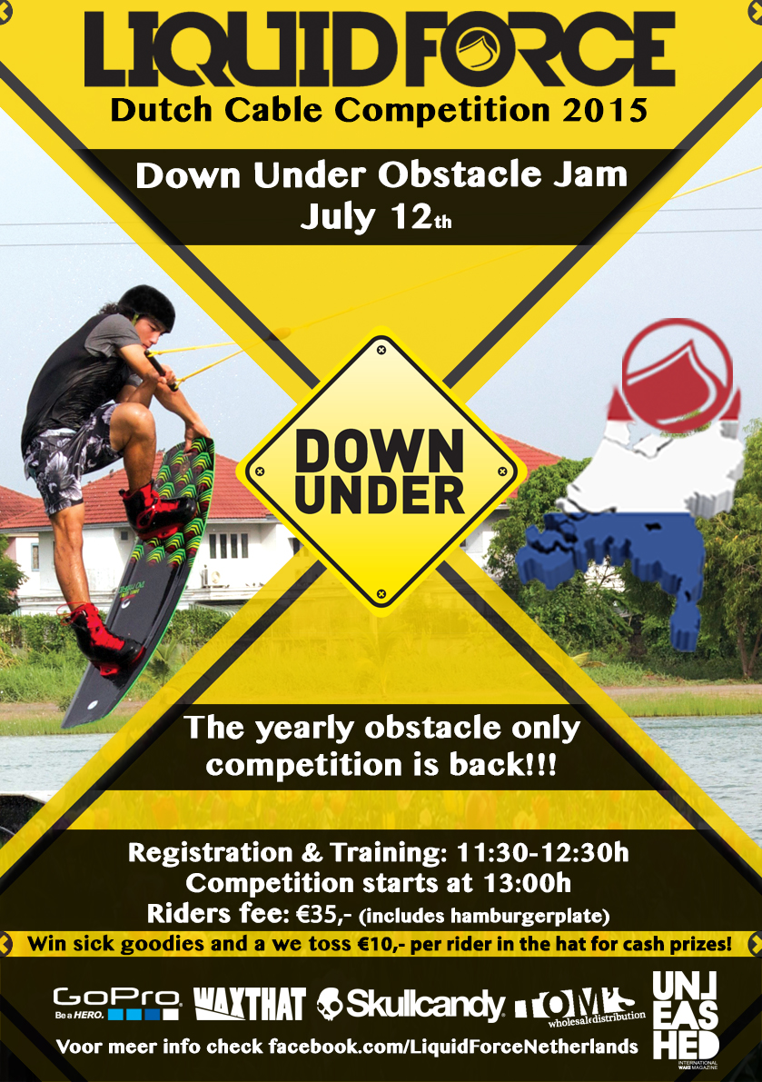 2015 Down Under Obstacle Jam , is Back