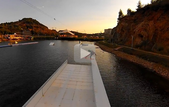 Jib sessions with Mamaev Vadim, Gold Cable Park Turkey