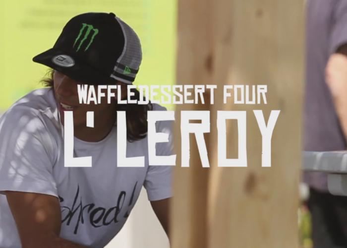 L'LEROY,  Waffle dessert Number 4