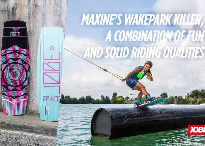 Maxine Sapulette's Jobe Grace: her wakepark killer for 2016!
