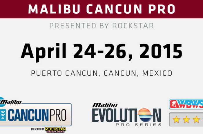 Malibu Cancun Pro second stop of the WWA WBWS presented by Rockstar