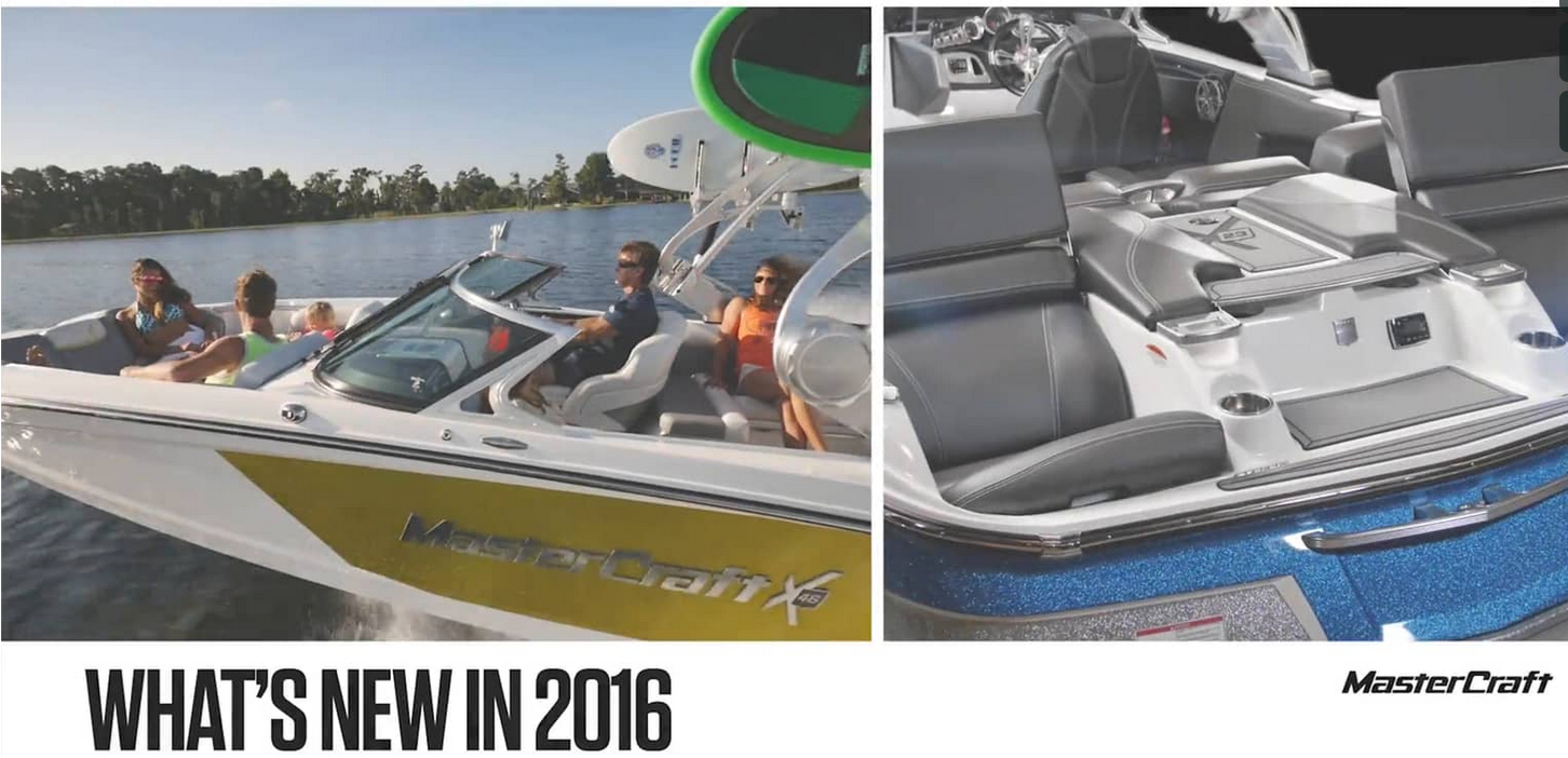 MasterCraft   What's New In 2016