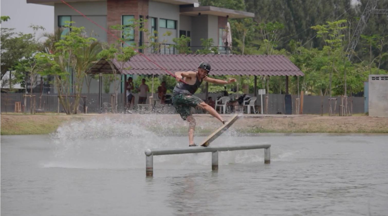 Maurizio Marassi -Thai Wake Park Pool Gap