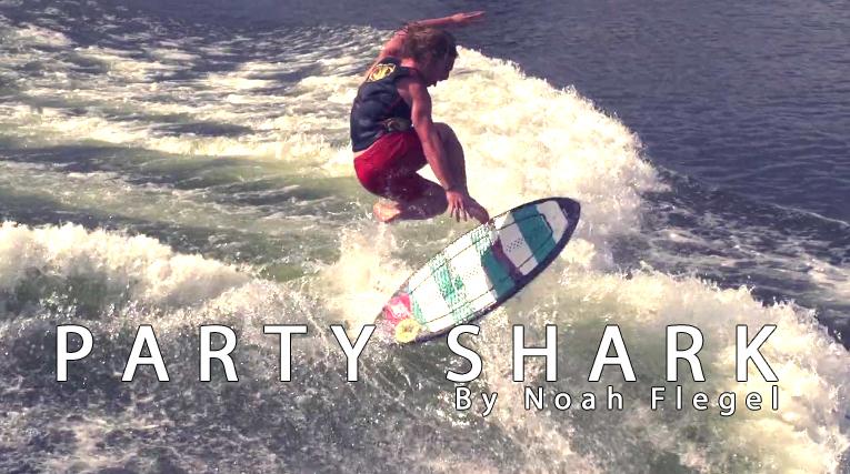 Party Shark - Ltd  Edition Hi-Fi by Noah Flegel |