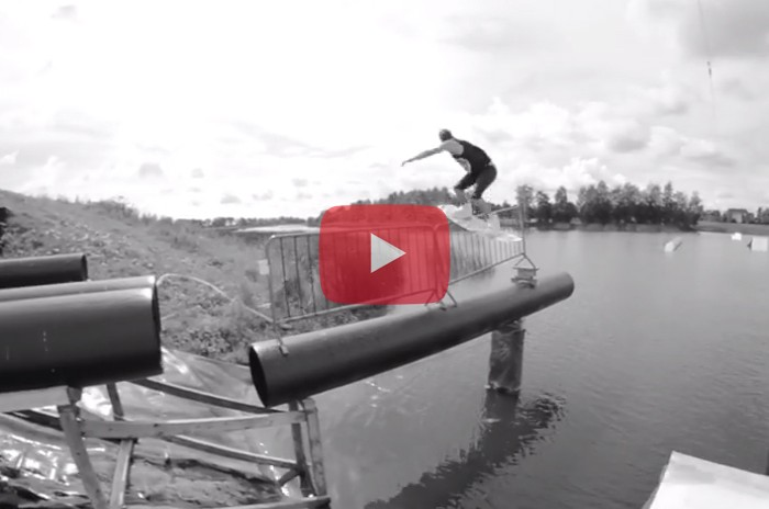 Obsessed with wakeboarding , Henri Raim From ESTONIA