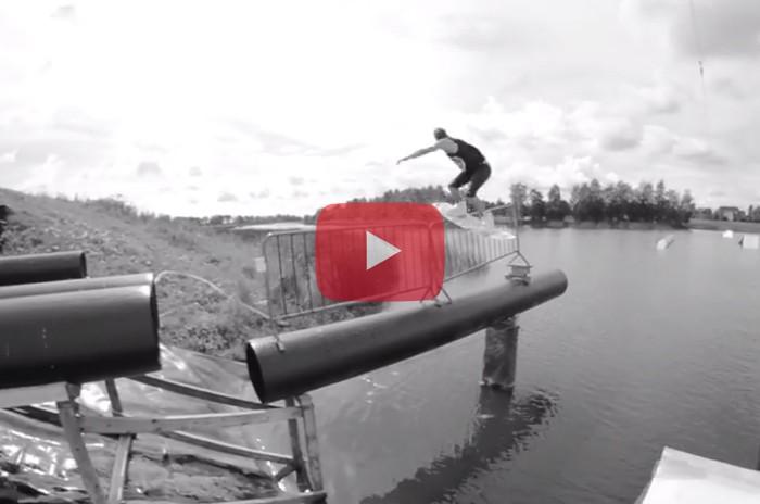 Obsessed with wakeboarding , Henri Raim Fro ESTONIA