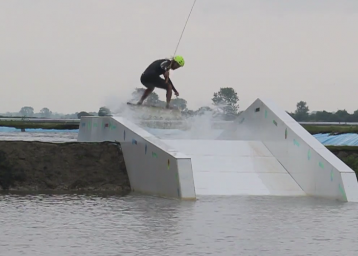 Hannams Wake Hub: Pool Gap with Ollie Moore