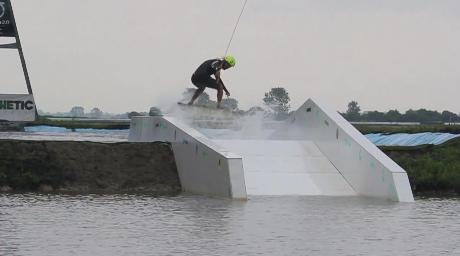 Hannams Wake Hub: Pool Gap with Ollie Moore