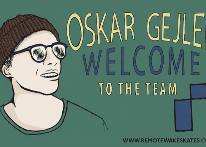 Oskar Gejler, Welcome to the Team !