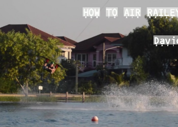 HOW TO AIR RAILEY Cable ! By David O'Caoimh Wakeboarder