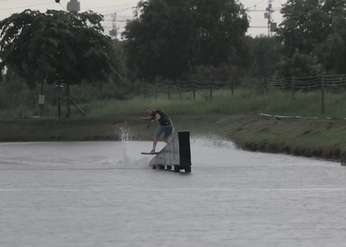 Victor Salmon is back at ThaiWakePark