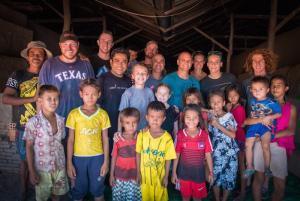NAUTIQUE CARES TEAM IN CAMBODIA