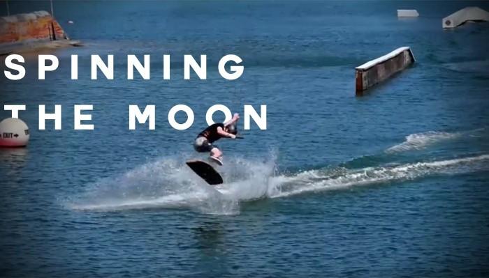 SPINNING THE MOON , James Harrington Wakeskate Trip