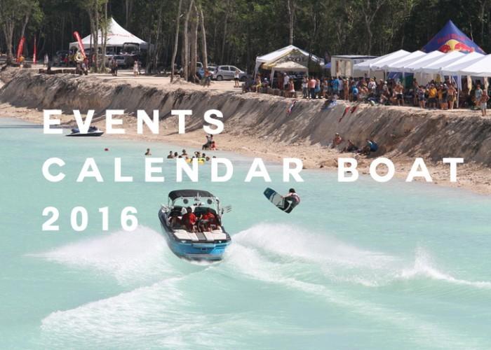 Calendar Events Wakeboard Boat 2016