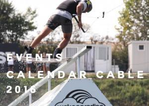 Calendar Events Wakeboard Cable 2016