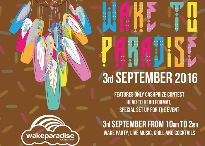 Wake to Paradise