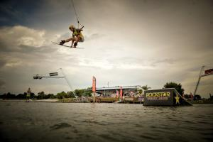 Guenther Oka Wake Park World series champion