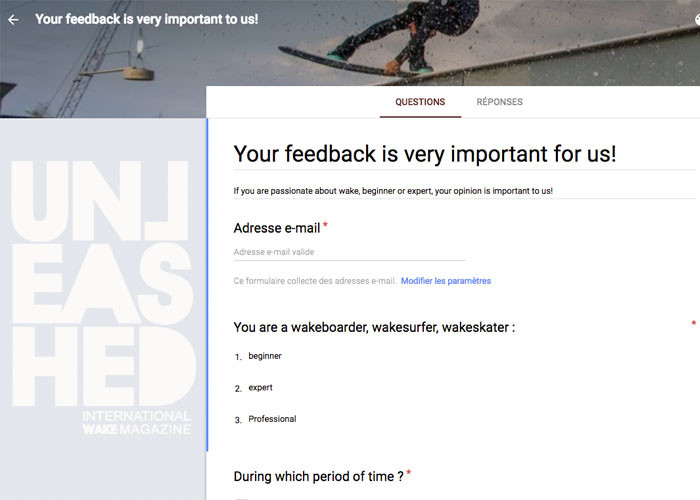 unleashed survey