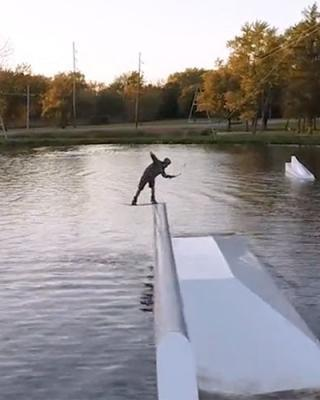 West Rock Wakepark with Dary Znebel