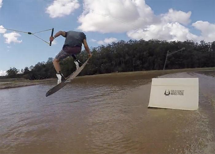 Wakeboarding at Gold Coast WakePark