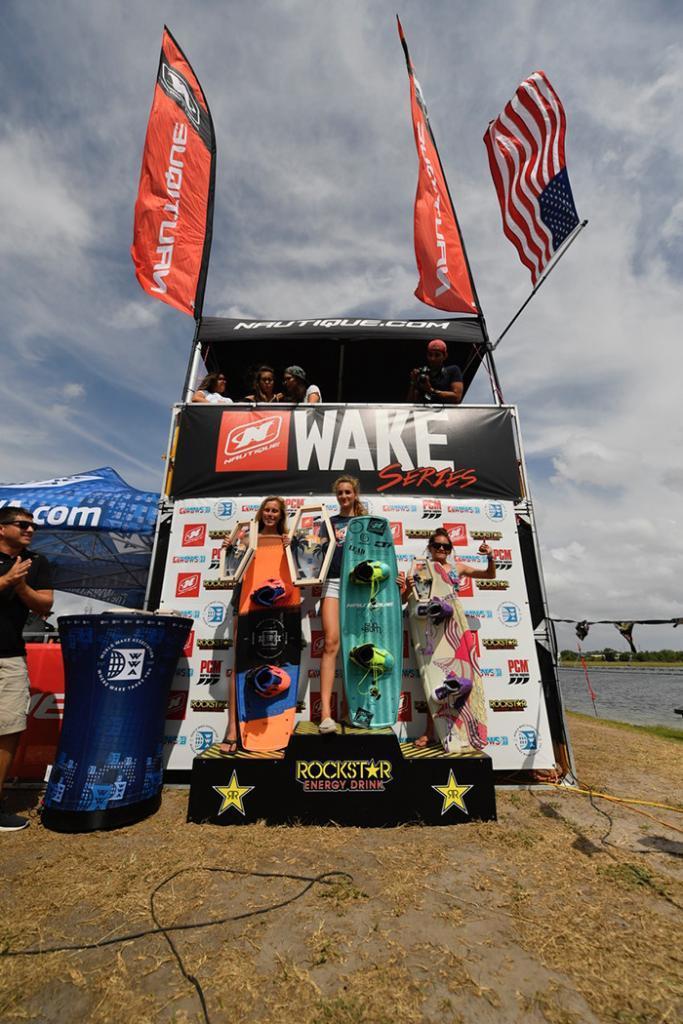 Wake Open 2017 pro Women