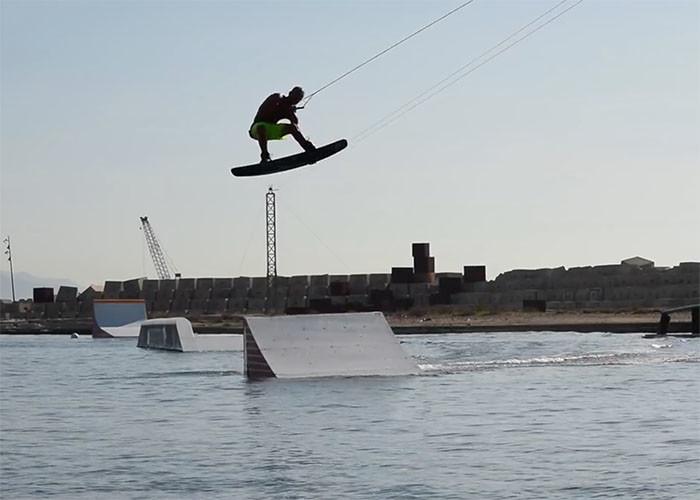 Christian Ramirez in Barcelona Cable Park